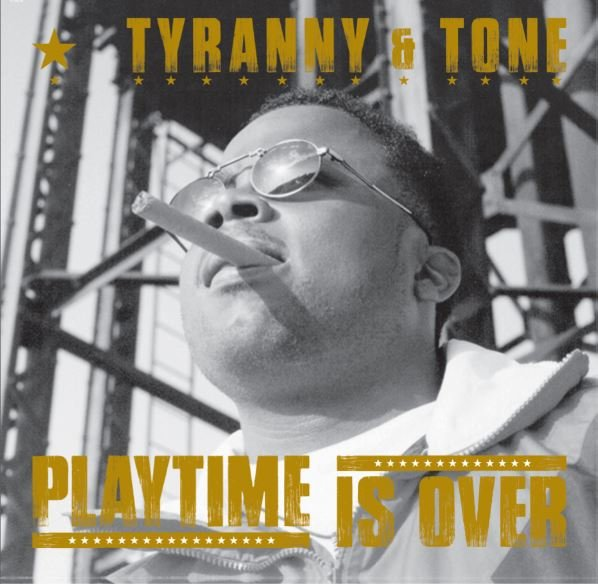 Tyranny & Tone - Playtime Is Over [Marble] [Vinyl Record / LP]-HIP-HOP ENTERPRISE-Dig Around Records