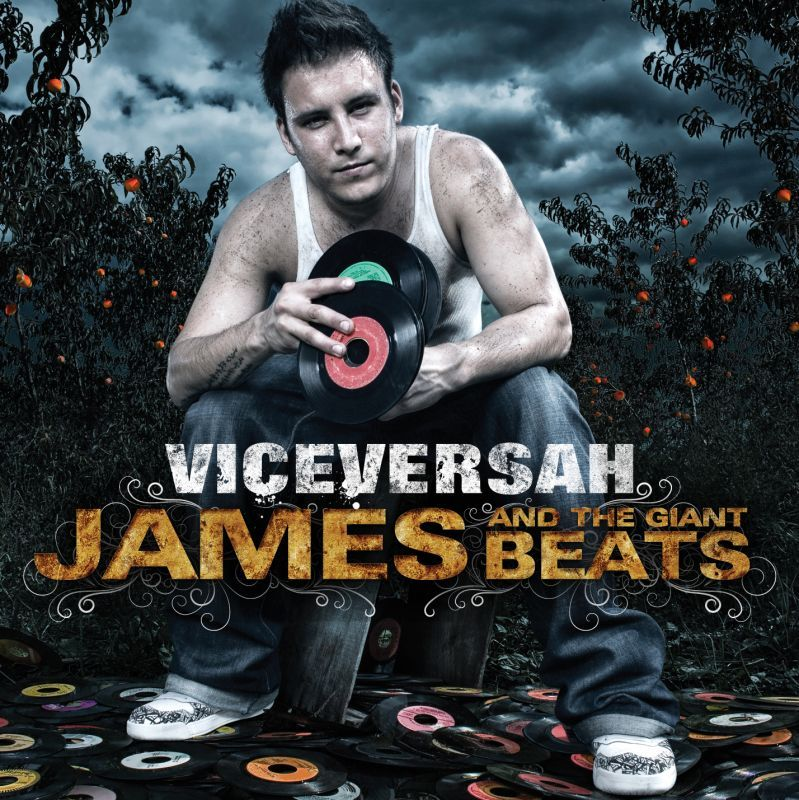 VICEVERSAH - James And The Giant Beats [CD]-AR Classic Records-Dig Around Records
