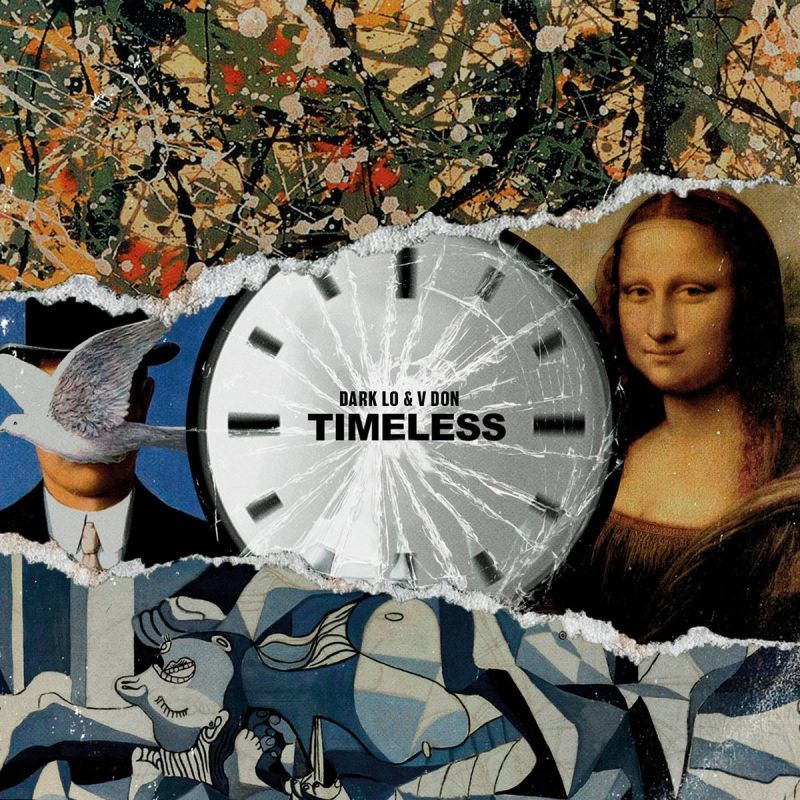 V DON & DARK LO - Timeless [CD]-FXCK RXP-Dig Around Records