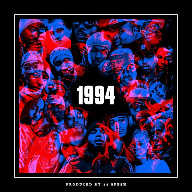 Various Artists - 1994 [Black] [Vinyl Record / LP]-de Rap Winkel Records-Dig Around Records