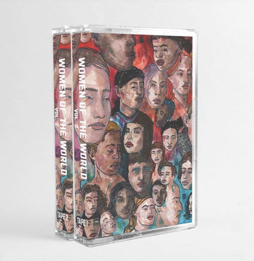 Various Artists - Women Of The World Vol. 2 [Clear Pink] [Cassette Tape / 2 x Tape + Sticker]