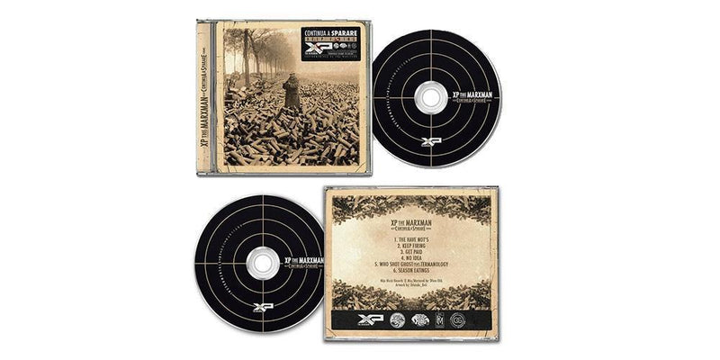 XP THE MARXMAN x ROC MARCIANO - Continua a Sparare (Keep Firing) [CD + Sticker]-Mijo Music-Dig Around Records