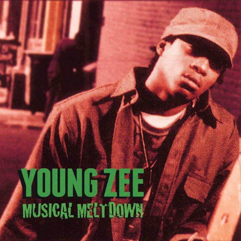 Young Zee - Musical Meltdown [CD]-Gentleman's Relief Records-Dig Around Records