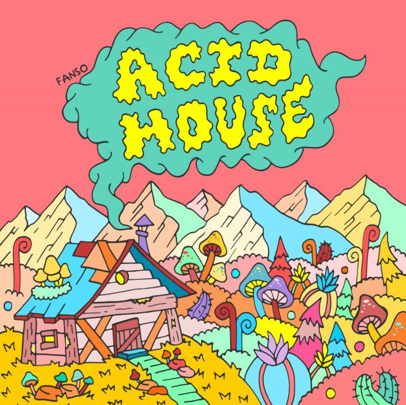 fanso - Acid House [2016 Edition] [CD] - Dig Around Records