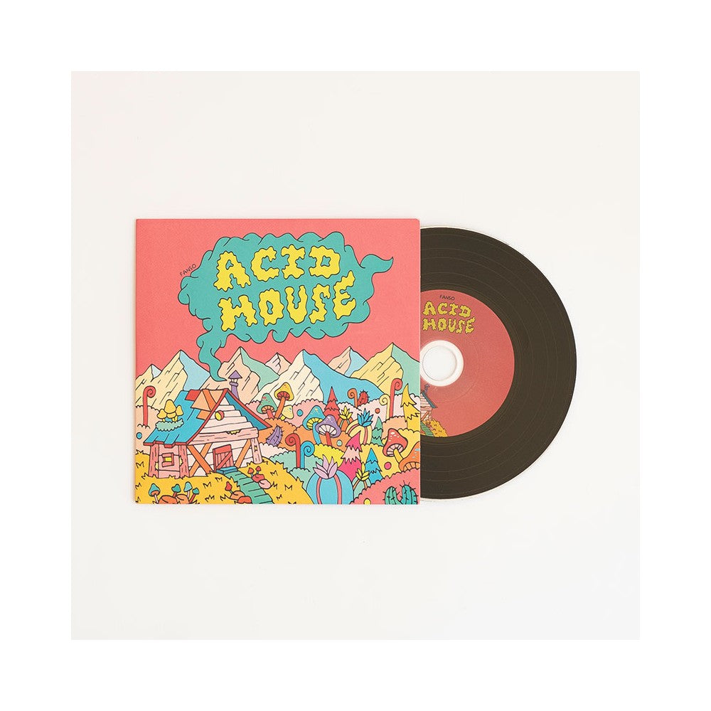 fanso - Acid House [CD] - Dig Around Records