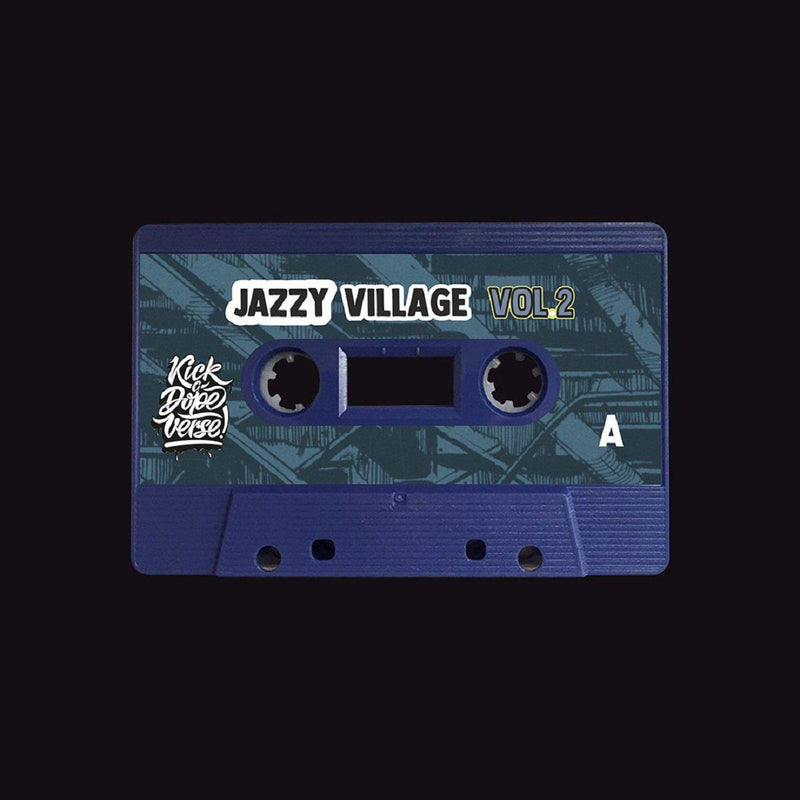 kick a dope verse! - jazzy village vol. 2 [Cassette Tape + Sticker]-Kick A Dope Verse!-Dig Around Records