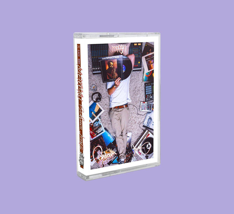 maffyn - bedroom joints [Cassette Tape + Sticker]-Kick A Dope Verse!-Dig Around Records