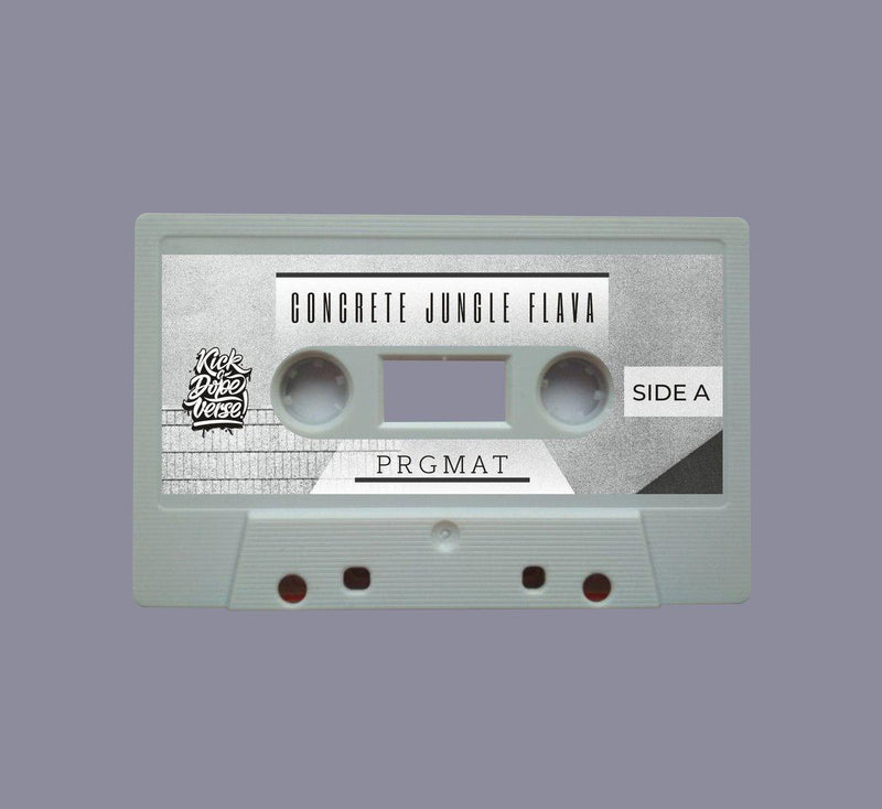 prgmat - concrete jungle flava [Cassette Tape + Sticker]-Kick A Dope Verse!-Dig Around Records
