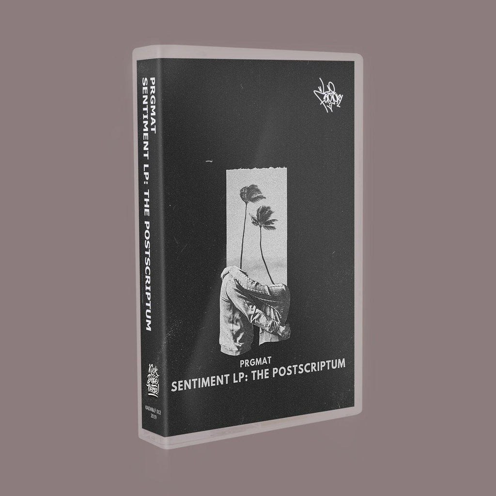 prgmat - sentiment lp: the postscriptum [Cassette Tape + Sticker] - Dig Around Records