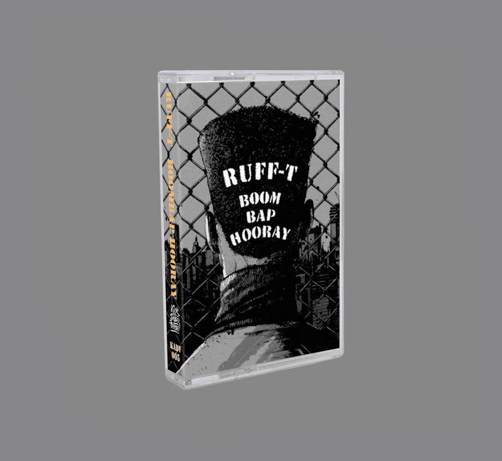 ruff-t - boom bap hooray [Cassette Tape] - Dig Around Records