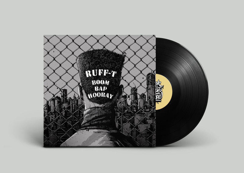 ruff-t - boom bap hooray [Vinyl Record / LP]-Kick A Dope Verse!-Dig Around Records