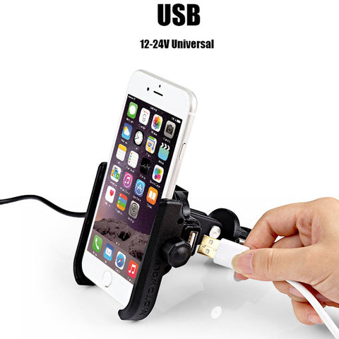 support avec port usb