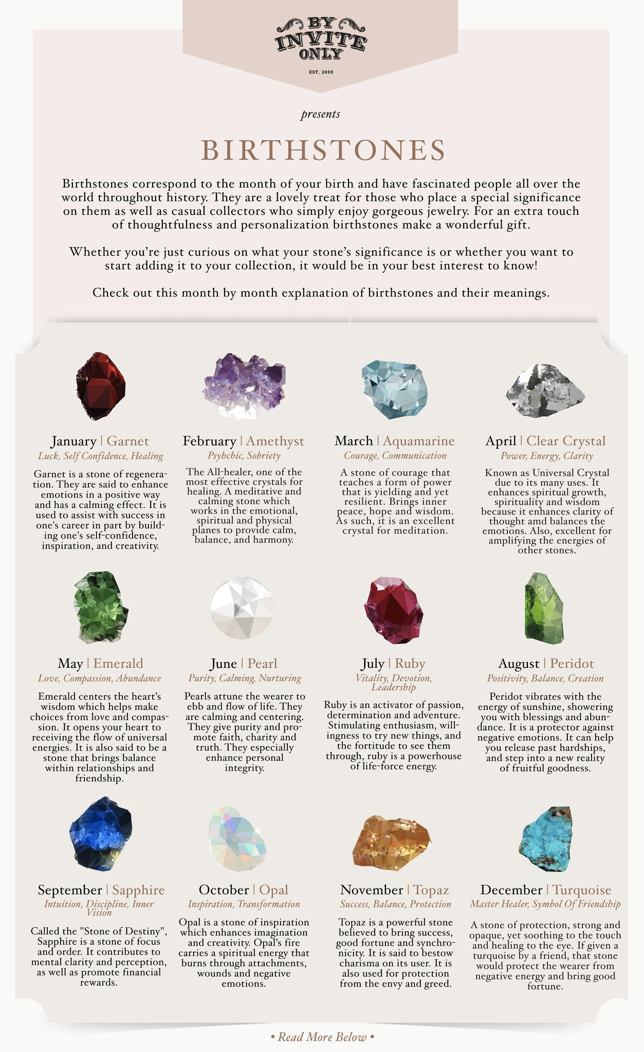 Birthstones: What do they mean? - By Invite Only