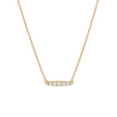 Gold Laura Cubic Necklace