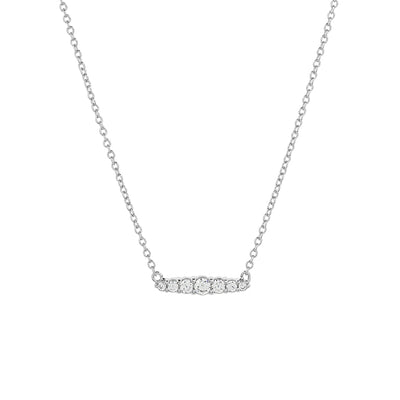 925 Silver Laura Cubic Necklace