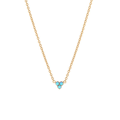 Gold Vanessa Opaline Necklace