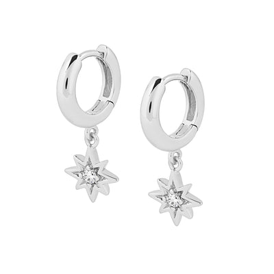925 Silver Celeste Cubic Earrings