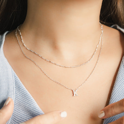 925 Silver Figaro Necklace