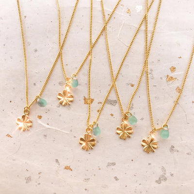 Gold Lucky Charm Necklace
