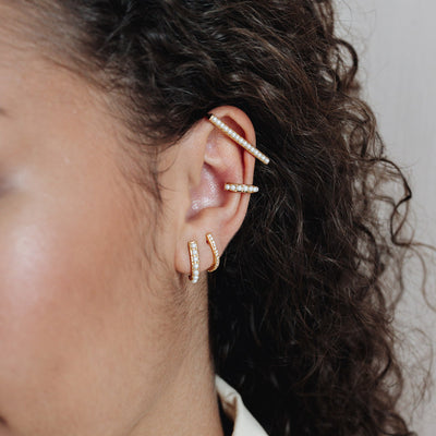 Gold Perla Ear Cuff