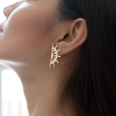 Gold Soleil Earrings