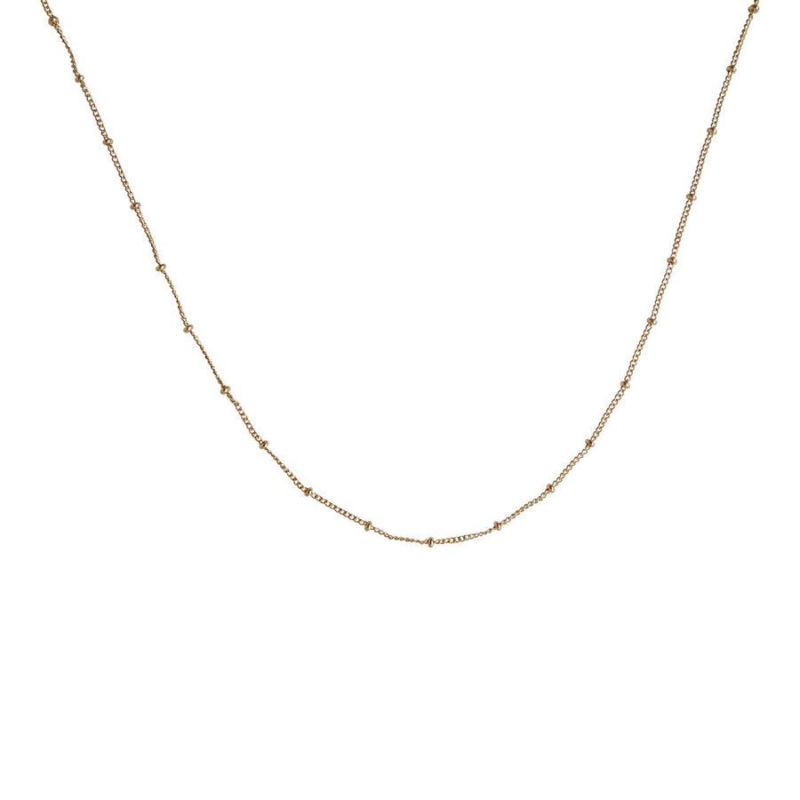 Gold Spacer Choker