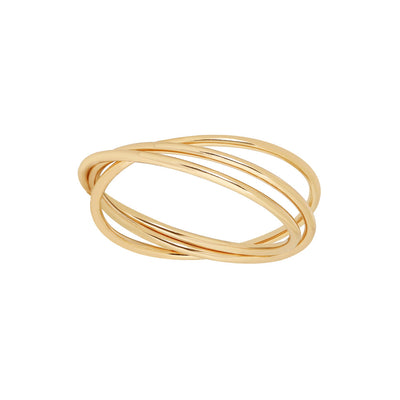 Gold Triple Stacking Ring