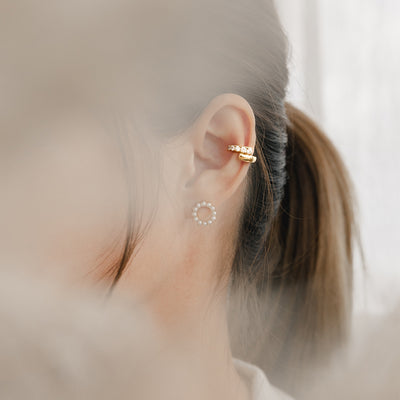 Gold Tyrion Cubic Ear Cuff