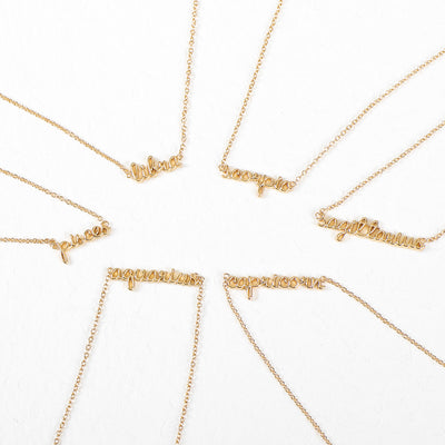 Gold Horoscope Choker