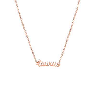 Rose Gold Horoscope Choker