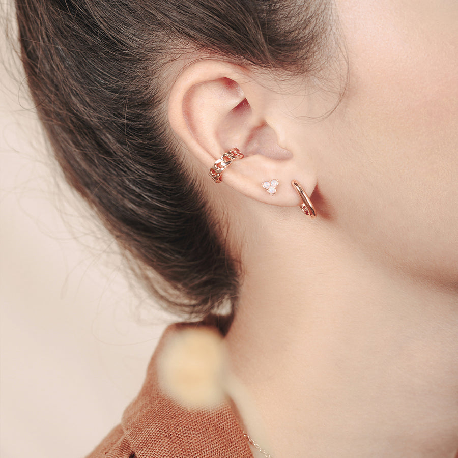 Rose Gold Lea Ear Cuff