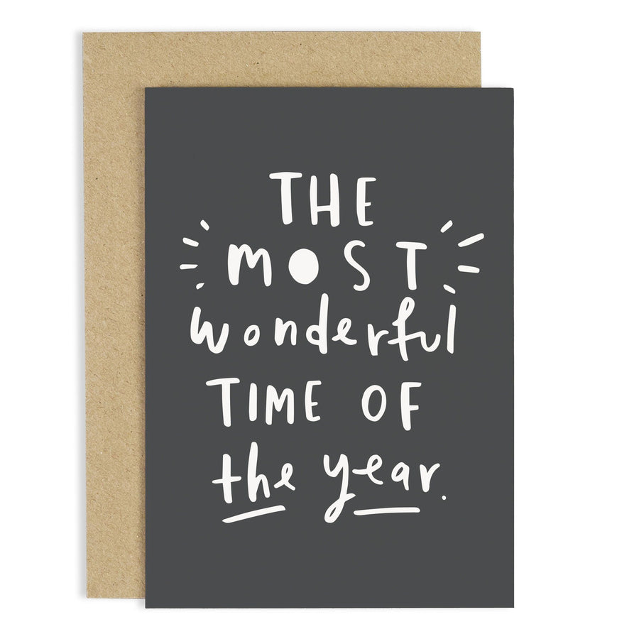 Most Wonderful Year Christmas Card