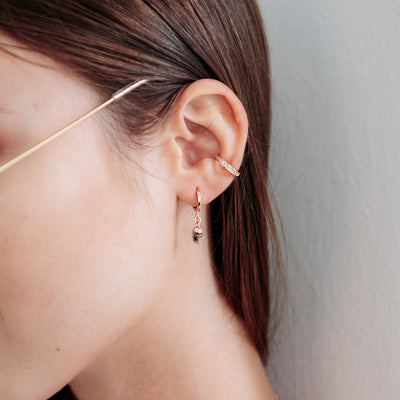 Rose Gold Astoria Earrings