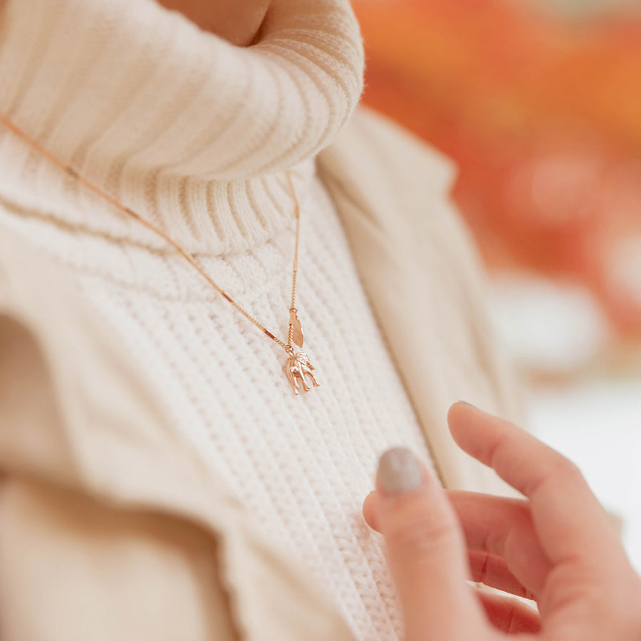Rose Gold Savanna Necklace