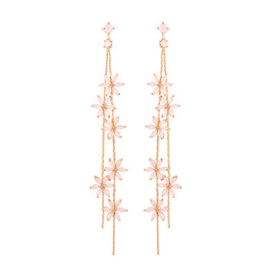 Rose Gold Hailey Opal Earrings
