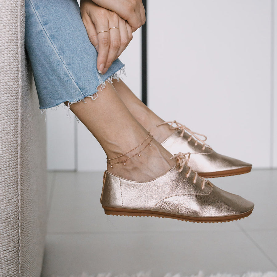Rose Gold Leanne Anklet