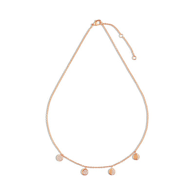 Rose Gold Lunar Phase Choker