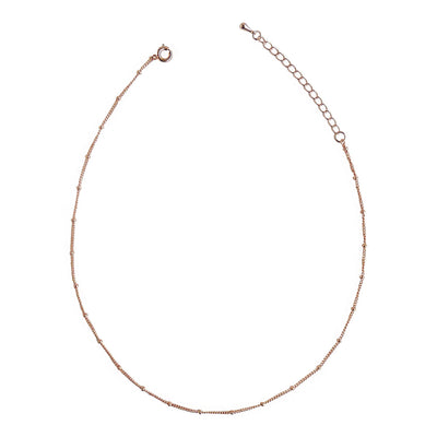Rose Gold Spacer Choker