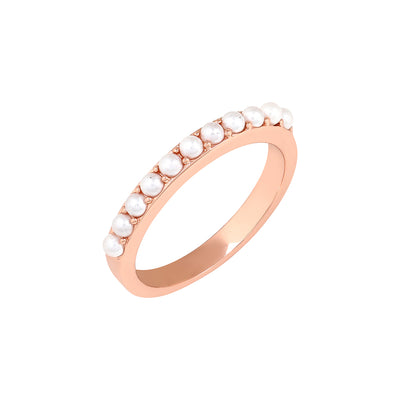 Rose Gold Alice Pearl Ring