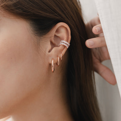 Rose Gold Fiesta Ear Cuff
