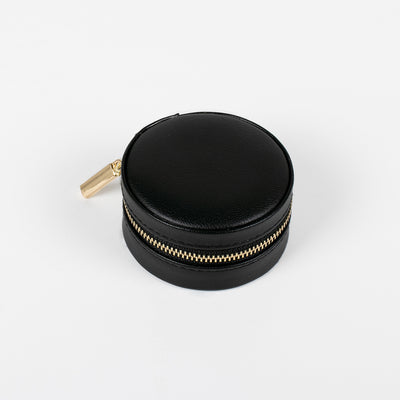 Sesame Macaron Leather Jewellery Box