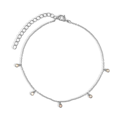 Silver Leanne Anklet