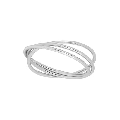 925 Silver Triple Stacking Ring