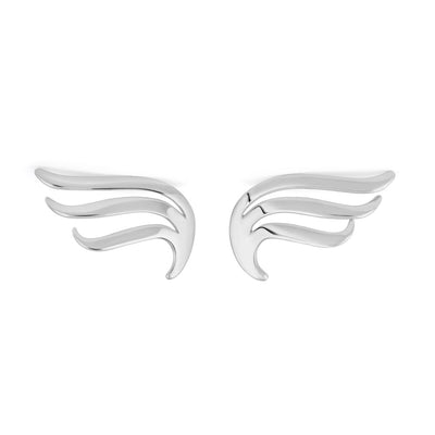 Silver Wing Studs