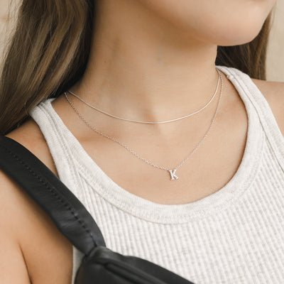 925 Silver Snake Chain Necklace