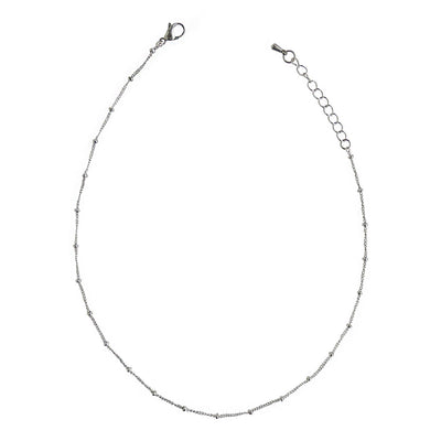 Silver Spacer Choker