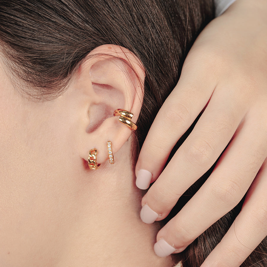 Gold Tyrion Ear Cuff