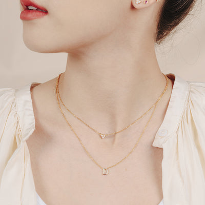 Gold Valerie Opaline Necklace
