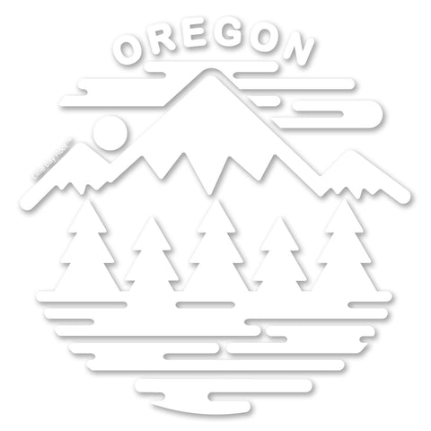 Oregon Fifty Ranges | Vinyl Decal