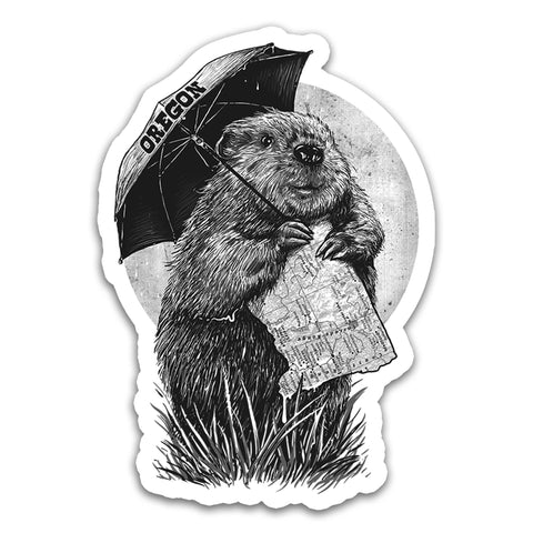 Oregon Beaver | Sticker